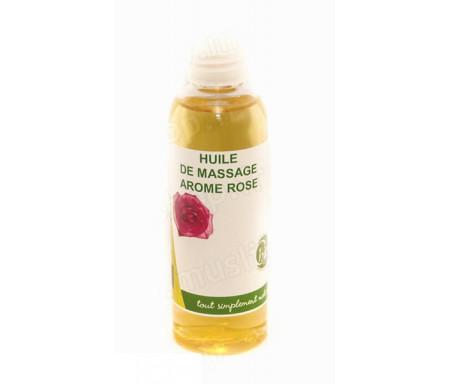 Chifa - Huile de massage arôme Rose 100ml