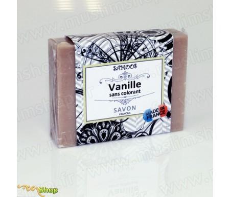 Samoos - Savon solide à la Vanille sans colorant