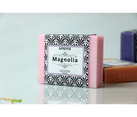 Samoos - Savon solide Magnolia