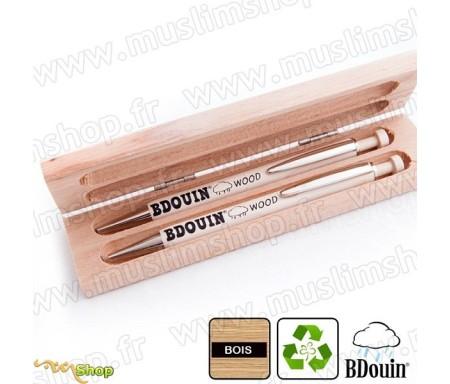 """Parure en bois """"Wood"""" - Bdouin"""