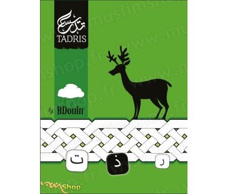 Cahier Tadris/Bdouin - 48 pages (vert)