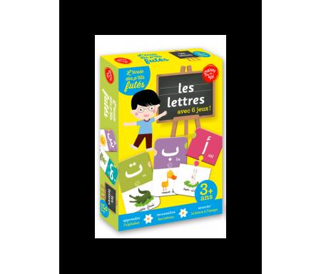 """L'école des p'tis futés - Les lettres arabes """"6 jeux en 1"""""""