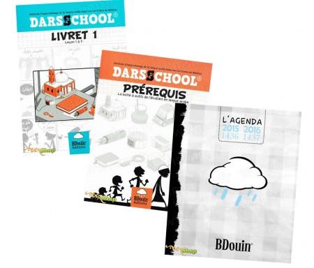Pack Darsschool (Livret 1 et Prérequis) + Agenda Blanc 2015-2016