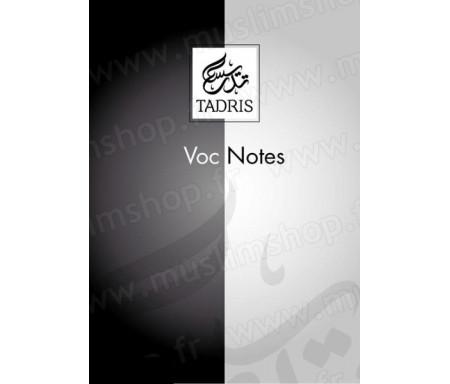 Voc-notes A5 160 pages Tadris