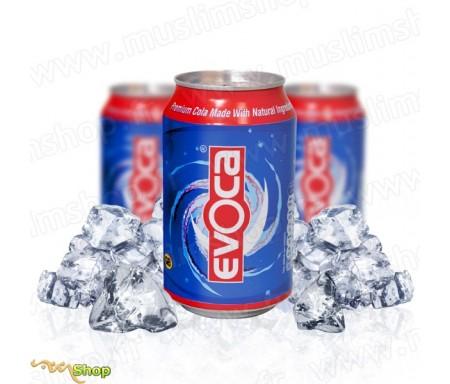 Pack 3 canettes Evoca Cola - Eau minérale Naturelle Gazeuze à l'extrait de graine de nigelle