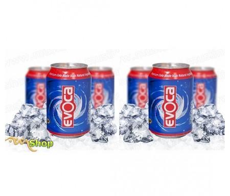 Pack 6 canettes Evoca Cola - Eau minérale Naturelle Gazeuze à l'extrait de graine de nigelle