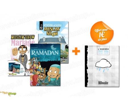 Pack 3 BD Muslim'Show + 1 Agenda Blanc