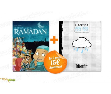 BD - Le Mois Sacré du Ramadan Muslim'Show + Agenda Bdouin 2015-2016 Blanc