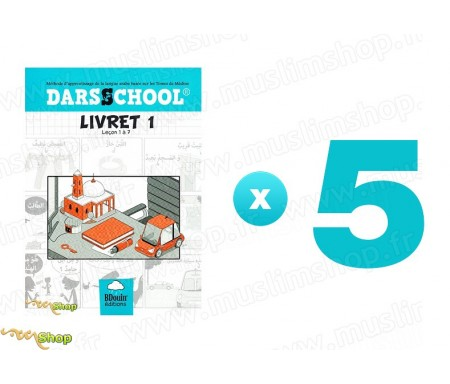 Pack 5 DARSSCHOOL - Livret 1