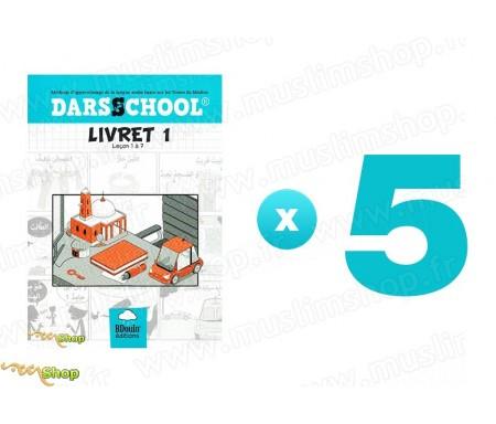 Pack 5 DARSSCHOOL - Livret 1