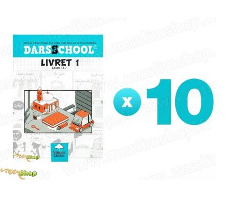 Pack 10 DARSSCHOOL - Livret 1