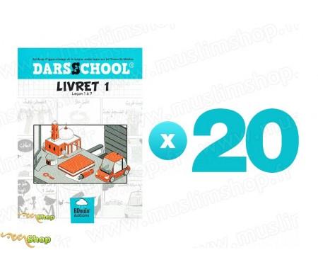 Pack 20 DARSSCHOOL - Livret 1