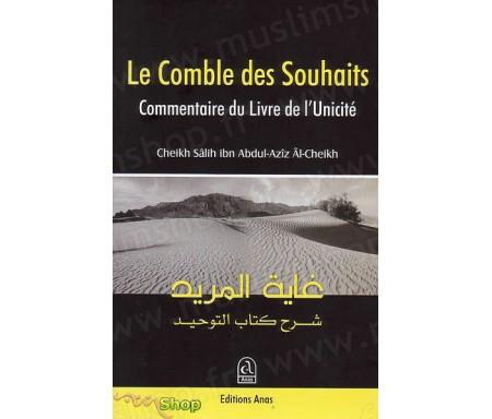 """Le Résumé du Commentaire du Livre de l'Unicité intitulé """"Le comble des Souhaits"""""""