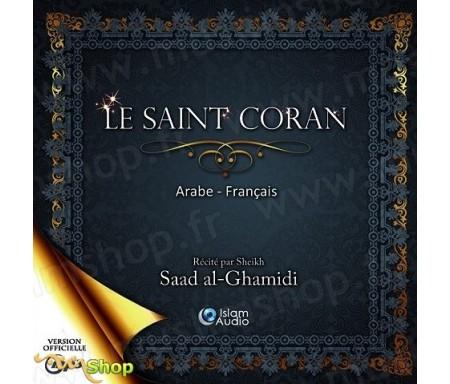 CD MP3 - Le Saint Coran récité par Sheikh Saad al-Ghamidi - Arabe/Français