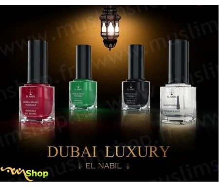 Kit de 4 vernis Dubaï Luxury - El Nabil