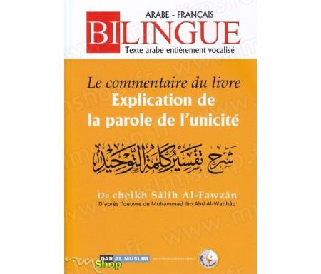 """Le commentaire du livre """"Explication de la parole de l'unicité"""