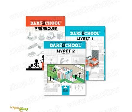 Pack Livret Pré-requis, livret 1 et 2 Darsschool