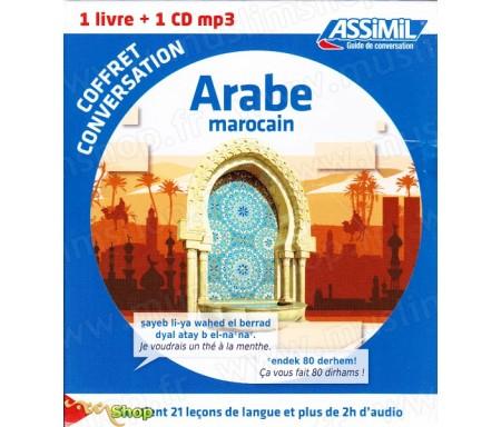 Arabe Marocain - Coffret de conversation 1 livre + 1 CD mp3