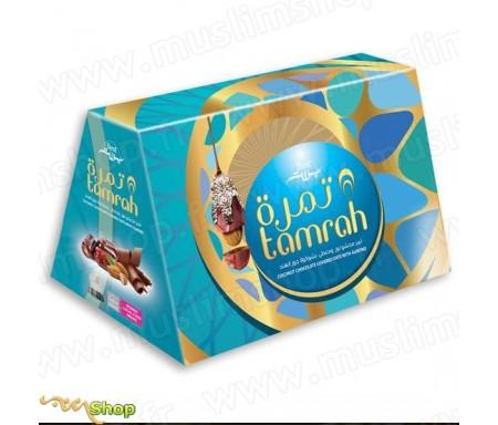 Tamrah - Pyramide Dattes aux amandes enrobées chocolat Coco 300g