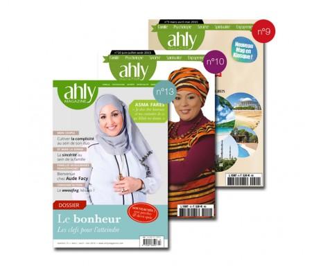 Pack Magazine Ahly n°9, 10 et 13