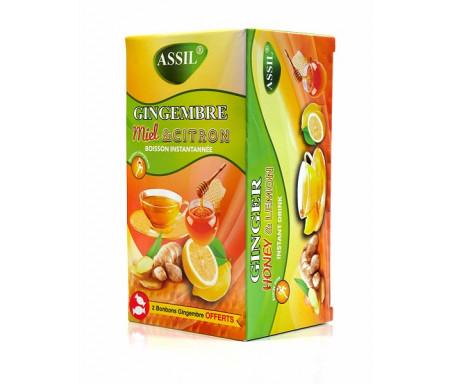 Assil- Thé naturel au gigembre, menthe-citron