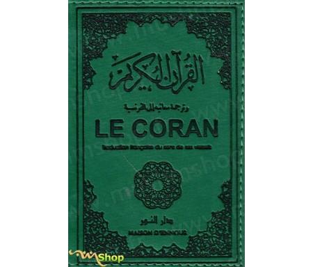 Le Coran traduction française du sens de ses versets (vert) - moyen modèle