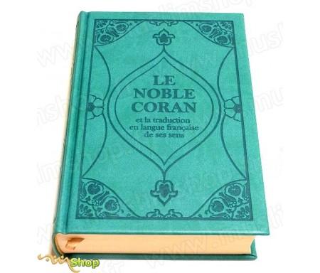 Le Noble Coran et la traduction en langue française de ses sens (bilingue français/arabe) - Edition de luxe couverture cartonnée