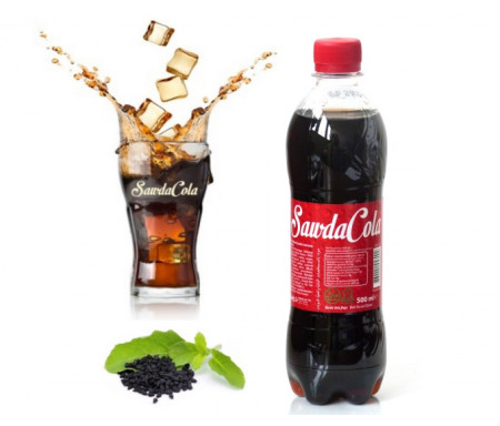 SawdaCola : Boisson Gazeuse à la Nigelle (Cola à la Habba Sawda - 500ml) - 0,5L - Buvez intelligemment !