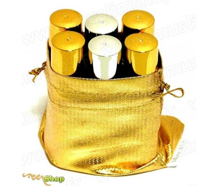 Pack découverte de 6 parfums différents de la marque Musc d'Or - Edition de Luxe (6x8ml)