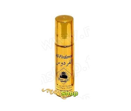 """Parfum concentré Musc d'Or Edition de Luxe """"Al-Firdaws """" (8ml) - Pour femmes"""