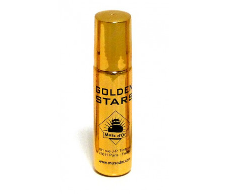 """Parfum concentré Musc d'Or Edition de Luxe """"Golden Stars"""" (8ml) - Pour hommes"""