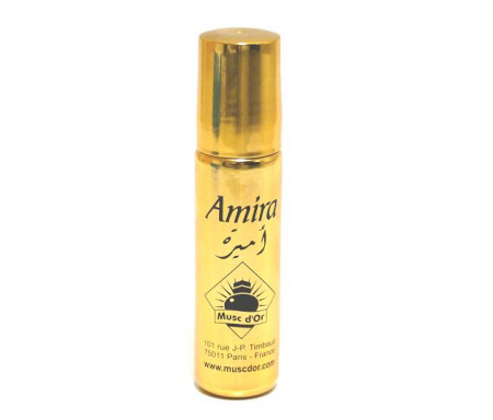 """Parfum concentré Musc d'Or Edition de Luxe """"Amira"""" (8ml) - Pour femmes"""