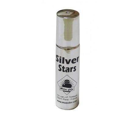 """Parfum concentré Musc d'Or Edition de Luxe """"Silver Stars"""" (8ml) - Pour hommes"""