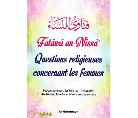 Questions religieuses concernant les femmes (Fatwa/Fatâwâ an-Nissâ')