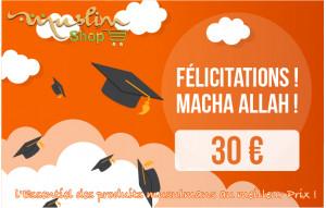 Félicitations 30€