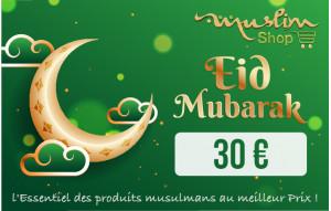 Eïd Mubarak 30€