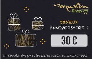 Anniversaire 30€